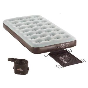 Coleman Double Sized Quickbed With 4d Pump And Wrap-n-Eoll Storage