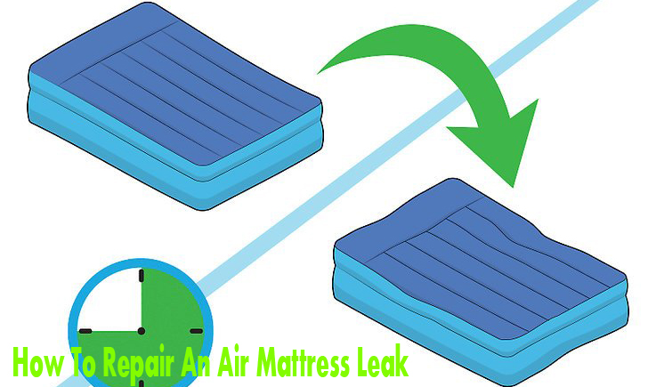 How To Repair An Air Mattress Leak