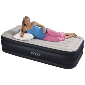 Intex Deluxe Pillow Rest Rising Comfort Twin