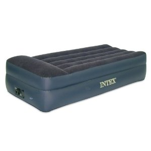 Best Budget Twin Raised Air Mattress Intex Pillow Rest Twin Airbed With Built In Electric Pump